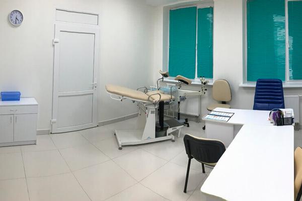 Кабинет гинеколога в Центре репродуктивной медицины «Боголюбы»