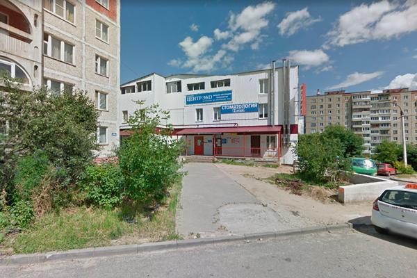 Расположение клиники «Центр ЭКО» (Владимир)