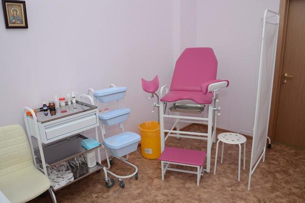 Кабинет гинеколога в клинике семейной медицины (Ижевск)