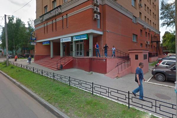 Расположение медицинской клиники «Здоровье» (Владимир)