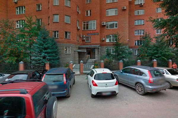 Расположение медицинского центра «Малыш» (Тюмень)