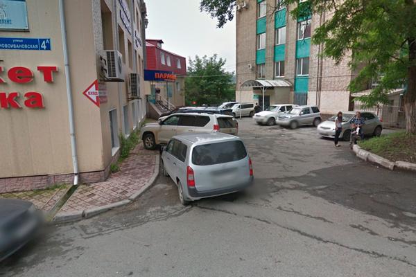 Расположение медицинского центра «Парацельс» (Владивосток)
