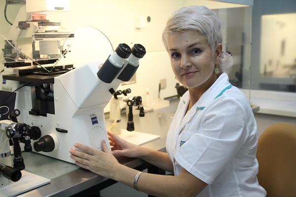 Лаборатория в Центре новых медицинских технологий (Новосибирск)
