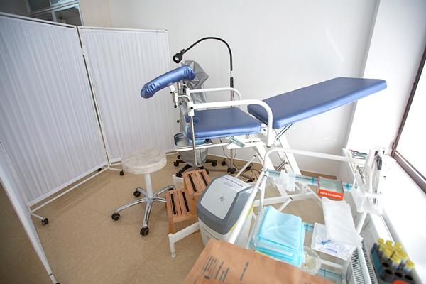 Кабинет гинеколога в клинике репродукции «Эмбрио» (Сочи)