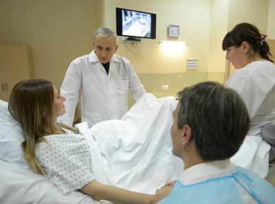 Индивидуальный родильный бокс в медицинской клинике «Чачава» (Тбилиси)