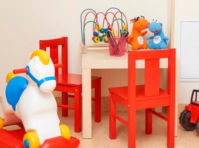 Детская комната в медицинском центре «Мать и дитя» (Самара)