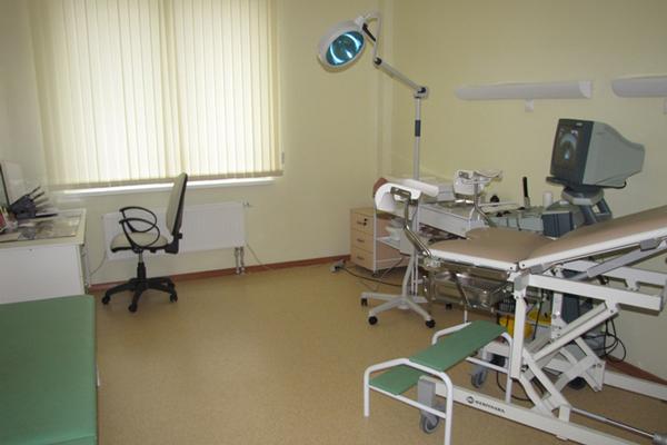 Кабинет гинеколога в Мордовском республиканском клиническом перинатальном центре