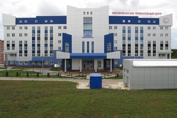 Здание Мордовского республиканского клинического перинатального центра