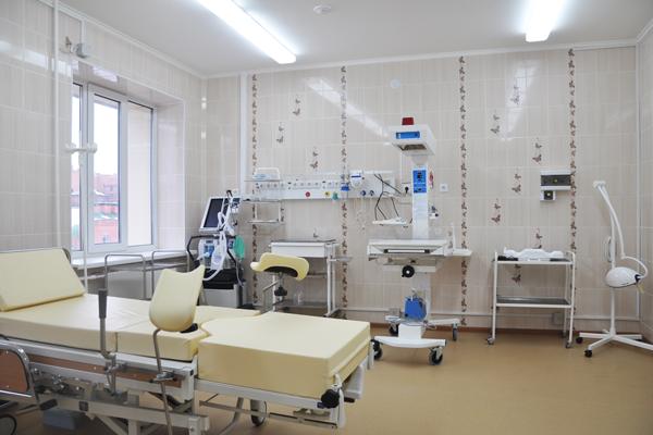 Родильный зал в перинатальном центре (Тюмень)