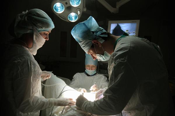 Операционная в Ростовском областном перинатальном центре