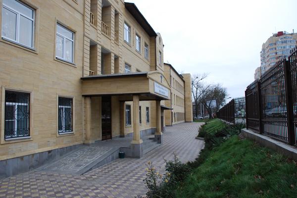 Здание Ставропольского краевого клинического перинатального центра
