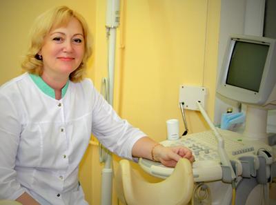 Кабинет УЗИ в клинике репродуктивного здоровья и ЭКО «Геном» (Калининград)