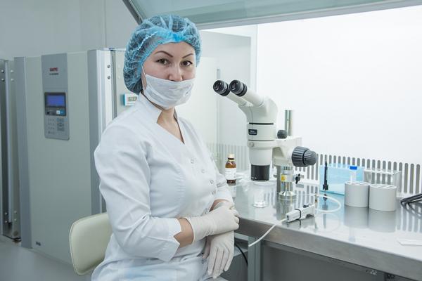 Лаборатория в клинике «Центр ЭКО» (Калининград)