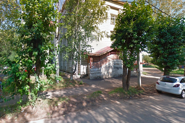 Здание республиканского перинатального центра Коми