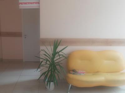 Холл в Сибирском институте репродукции человека (Томск)