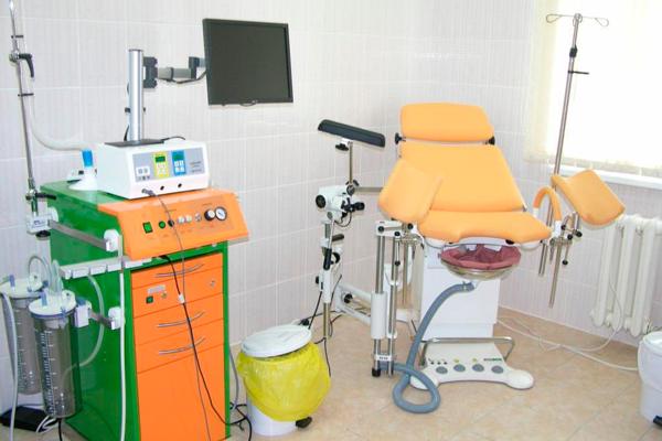 Кабинет гинеколога в Областном перинатальном центре (Томск)