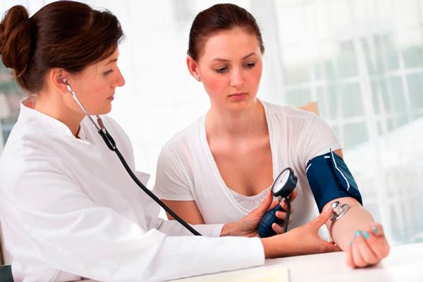 Измерение давления на 14-й недели беременности