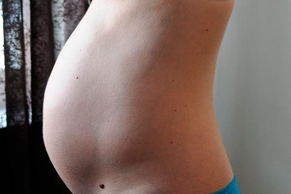 Размер живота беременной на 16-й недели