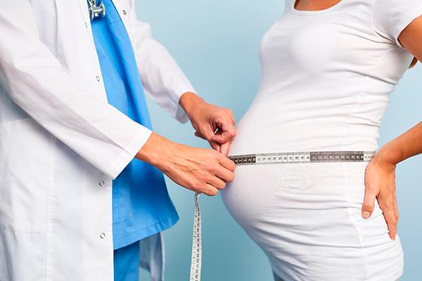 Замер живота на 27-й недели беременности