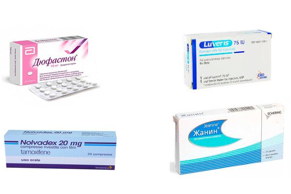 Лекарственные средства для лечения персистенции фолликула