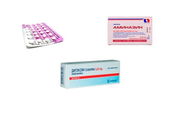 Персистенция фолликула в следствии приема: оральных контрацепитивов, сердечных гликозидов или фенотиазинов