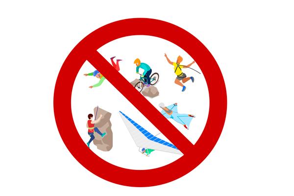 Запрет на опасные виды спорта для беременных
