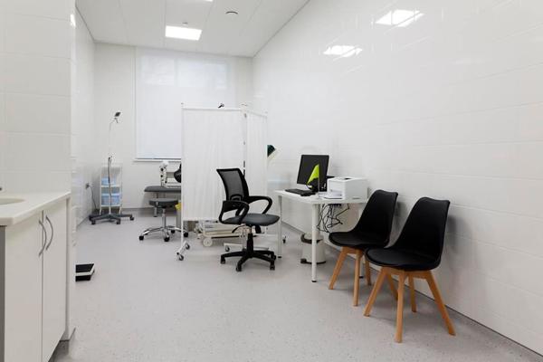 Кабинет гинеколога в Институте репродуктивной медицины «Remedi» (Москва)