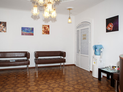 Холл в клинике «Центр ЭКО» (Калуга)