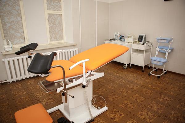 Кабинет гинеколога в клинике «Центр ЭКО» (Калуга)