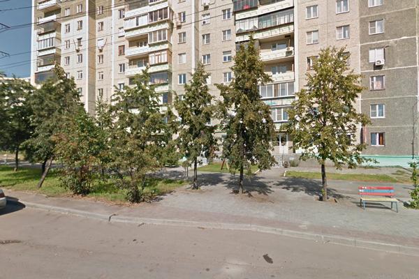 Расположение семейной клиники «Жемчужина» (Челябинск)
