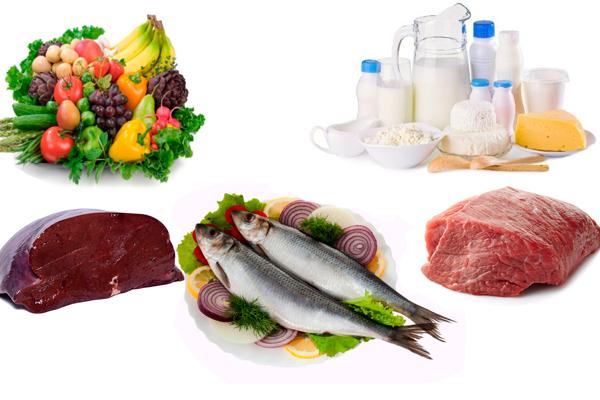 Правильное питание для устранения железодефицитной анемии