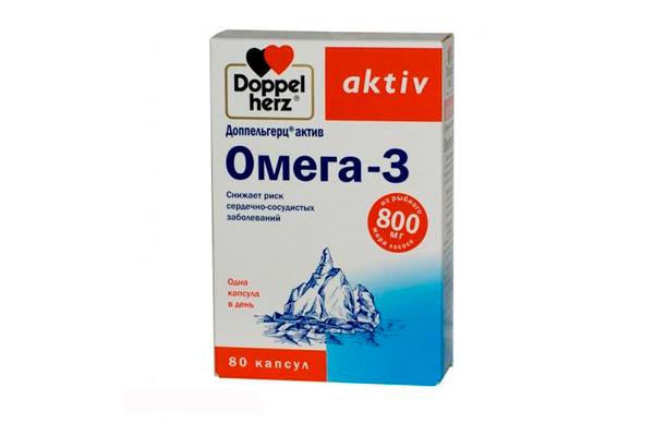 Омега-3 для нормализации гомоцистеина