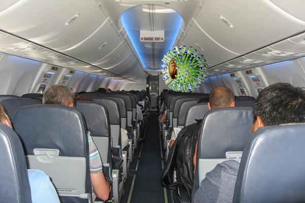 Опасность заражением респираторной инфекцией при полете на самолете во время беременности