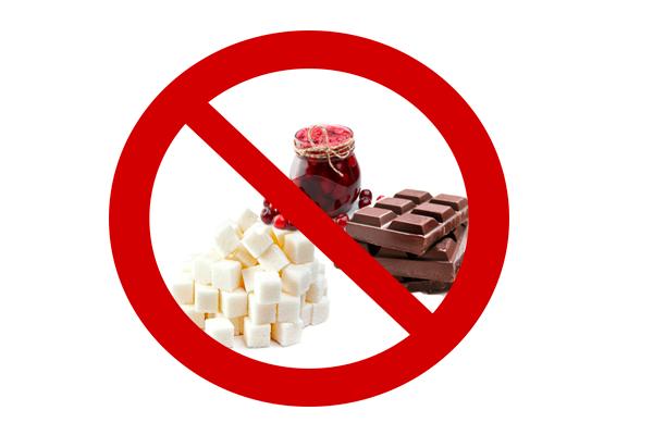 Запрет на сладкие продукты для коррекции уровня сахара во время беременности
