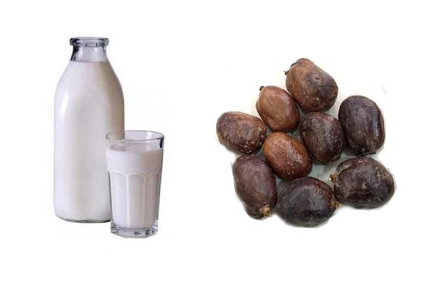 Приготовление настоя на молоке из орехов мохилхин