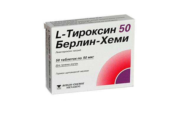 L-Тироксин в помощь при повышенном ТТГ