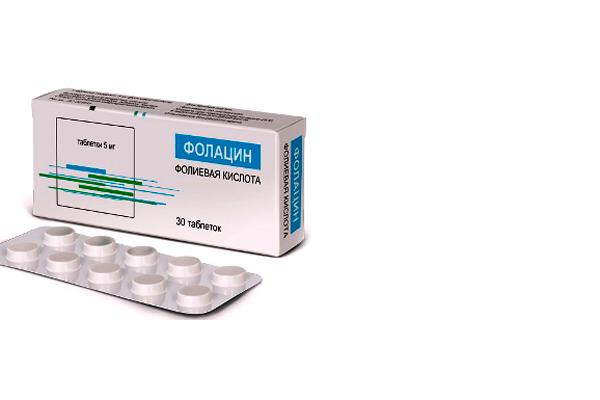 Форма выпуска препарата Фолацин