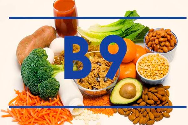 Продукты в которых содержится витамин В9