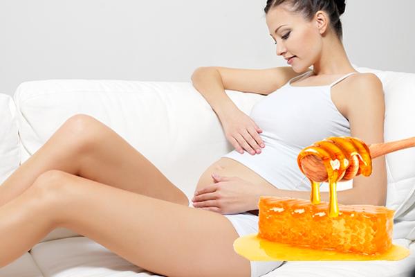 Мед в помощь при боли в печени у беременной