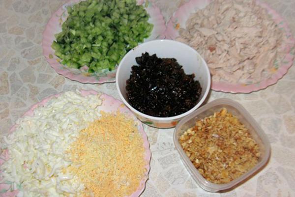 Употребление чернослива в период беременности в салате