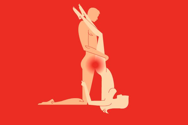 Секс-поза «березка» для успешного оплодотворения